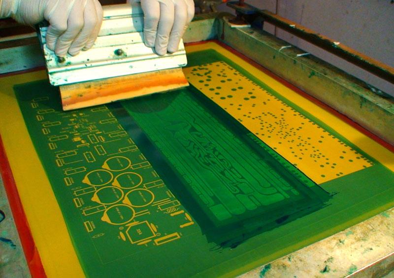 Screen Printing PCBs