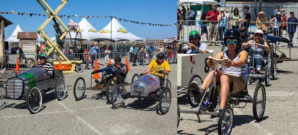 Race Your Way to Maker Faire