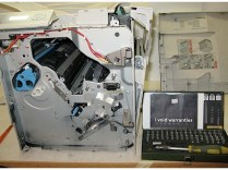 PC Load Letter! Instructables user laxap made an old printer into a shredder. Time to prank the office intern!