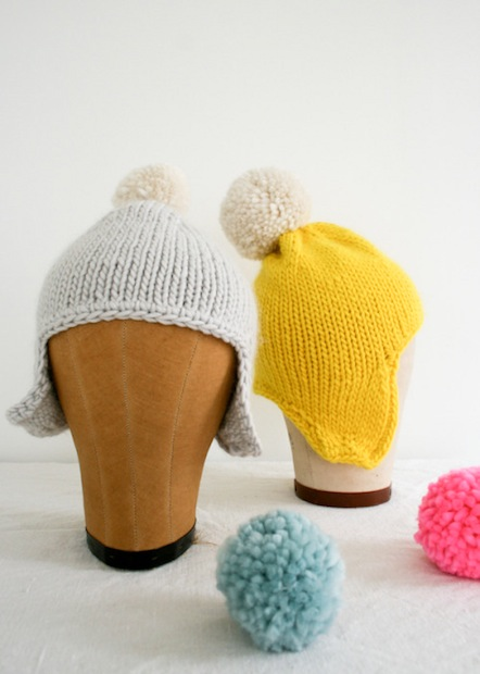 How-To: Simple Knit Earflap Hat