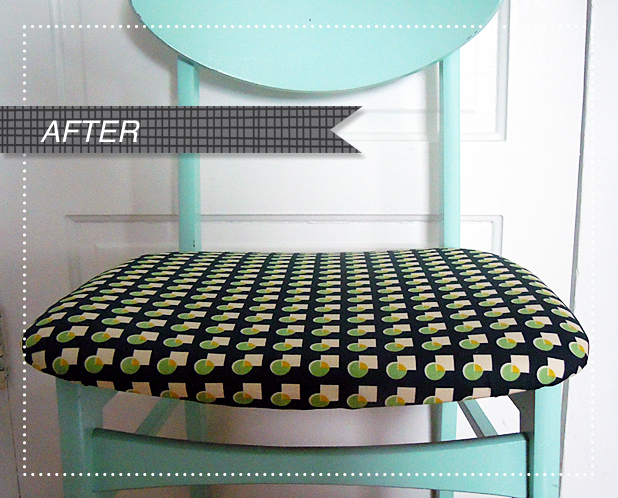 Recover Your Kitchen Chairs