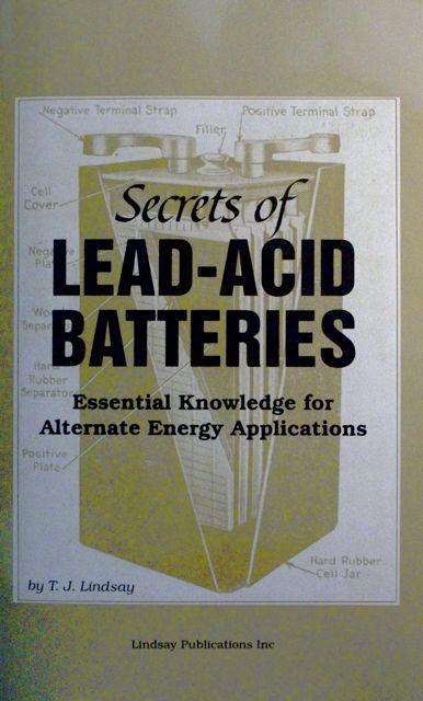 Book Review: Secrets of Lead-Acid Batteries