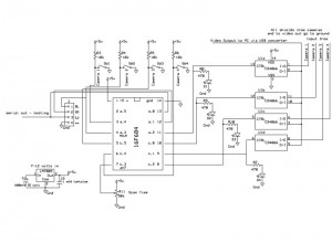 V30 Home security Schematic for PIC16F684 version