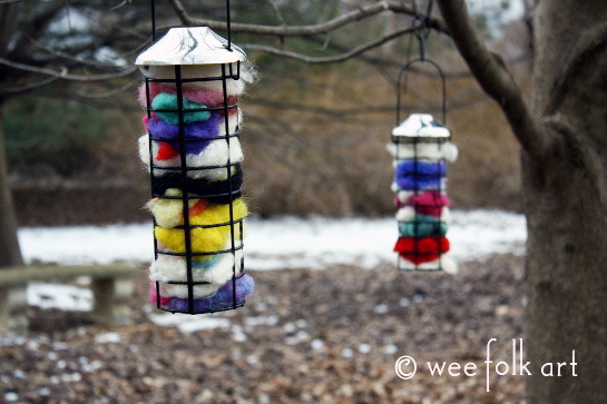 How-To: Bird Nesting Material Cages
