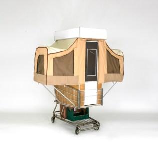 The cart fully deployed