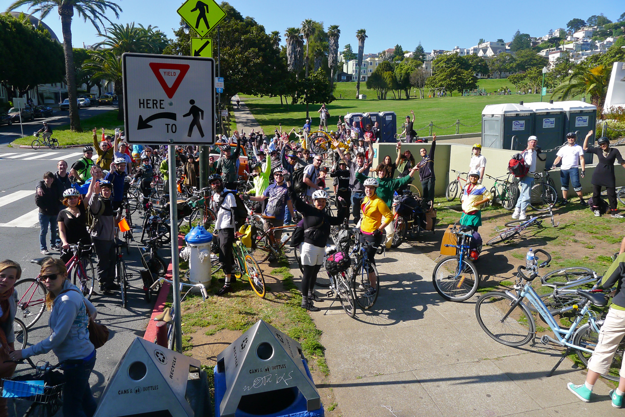 Cruise to Maker Faire Bay Area with Fellow Pedal-Power Enthusiasts