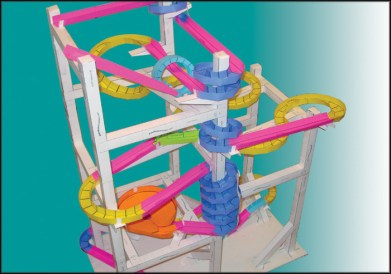 Build marble runs using only paper and tape. The Paper Roller Coaster templates have been used in schools in all 50 states and over 25 countries. It's a great hobby for anyone that likes origami or engineering.