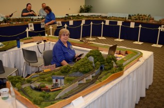 A modular N scale model railroad enhanced with Arduino-powered features.