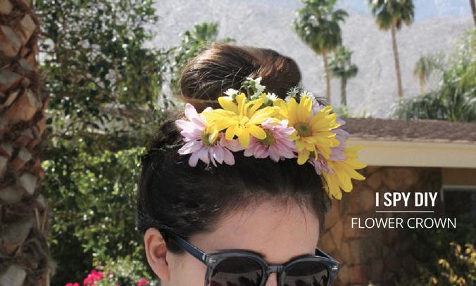 More DIY Flower Crowns