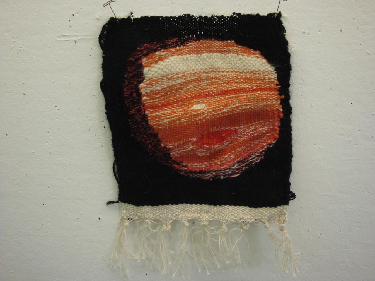Hand-Woven Jupiter Tapestry