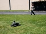 An attempt during the Autonomous Navigation competition.