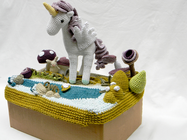 Crocheted Storybook Landscapes