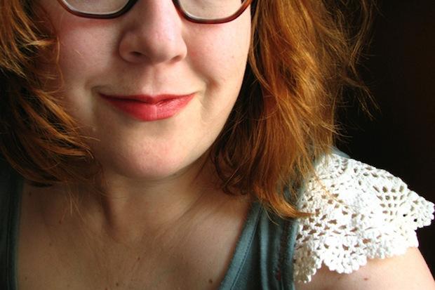Flashback: Spring Doily-Sleeved Top