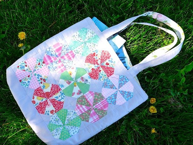 How-To: Octagon Quilt Block Tote