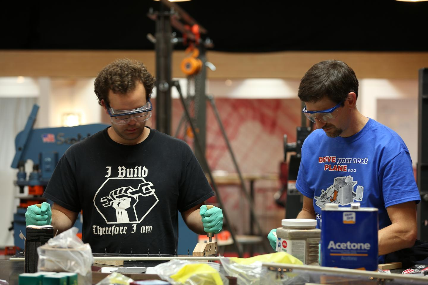 Makers on TV: Big Brain Theory