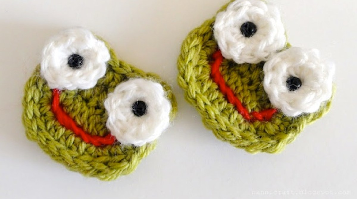 How to crochet frog applique make article featured image bankloansurffo Gallery