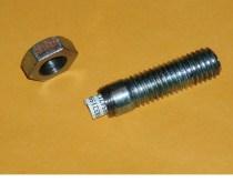 Made a Cold War-era dead drop out of a bolt. Link: Cold War Dead Drop Bolt [Instrucables]