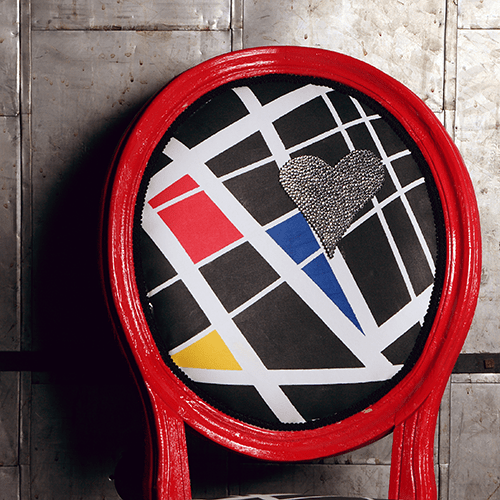 How-To: Mondrian-Inspired Fabric
