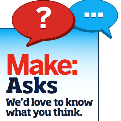 MAKE Asks: Making out of Necessity