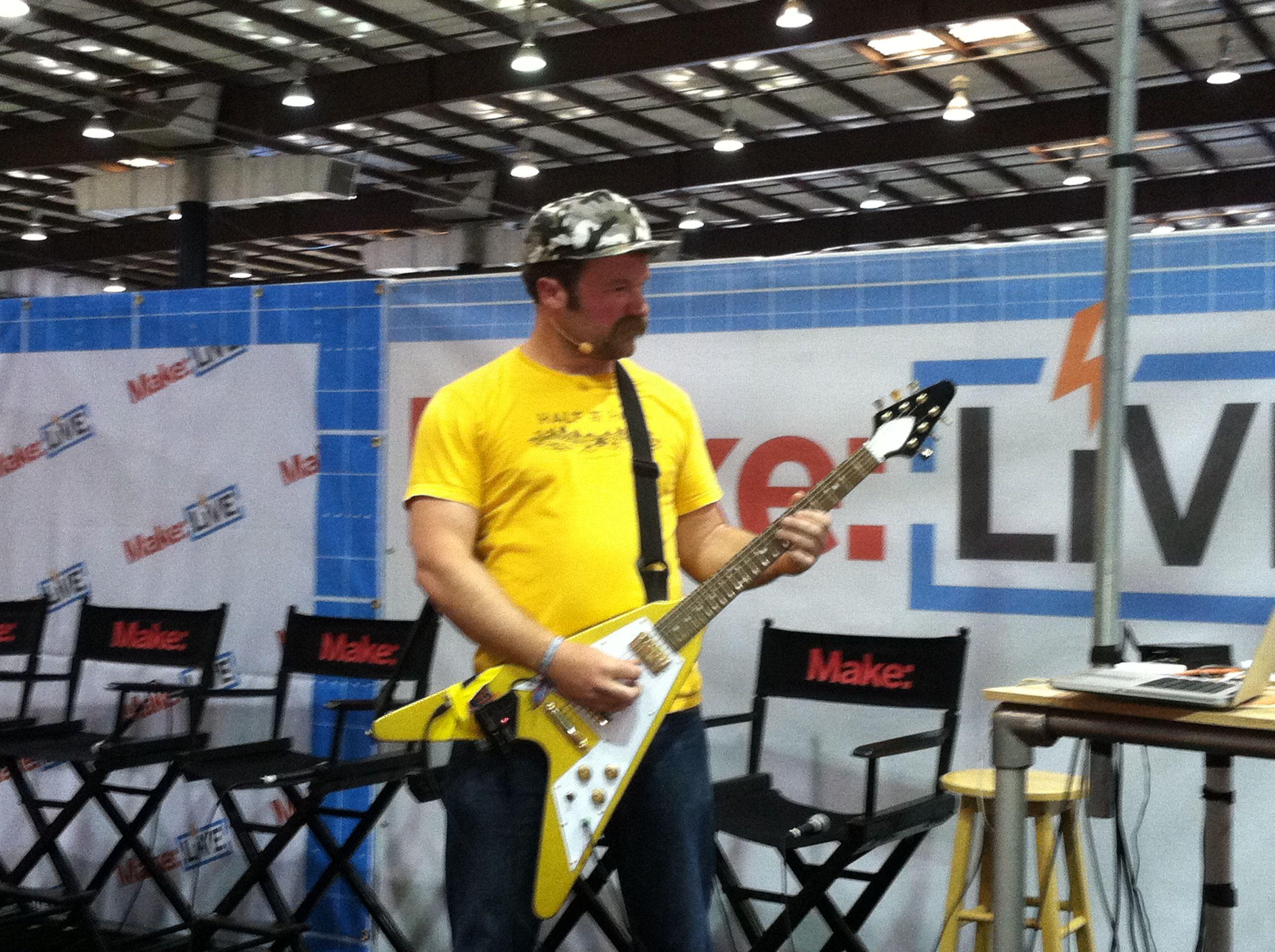 David Neevel Riffs on Maker Faire