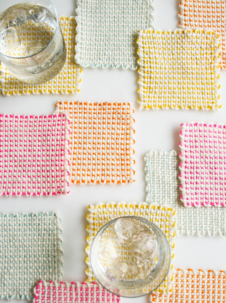 How-To: Pin Loom Coasters