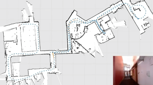 Mapping Buildings with a Kinect