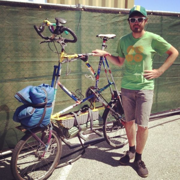 Tall Bike Bobby: From Vancouver to LA on a Hand-Made Bicyle