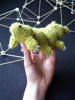 Tardigrade (Little Water Bear) Amigurumi