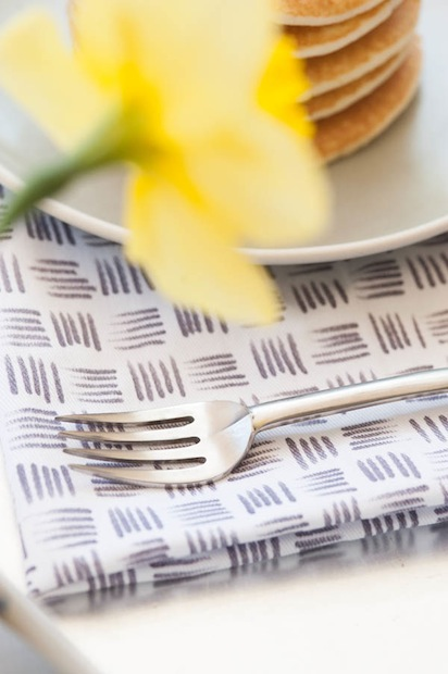 How-To: Make Patterned Cloth Napkins with Fabric Markers