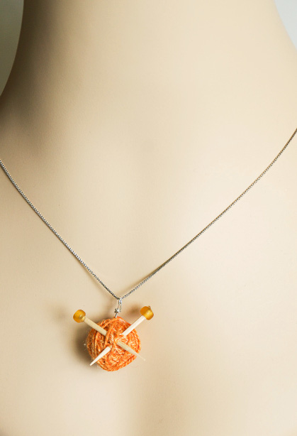 How-To: Knitter's Necklace