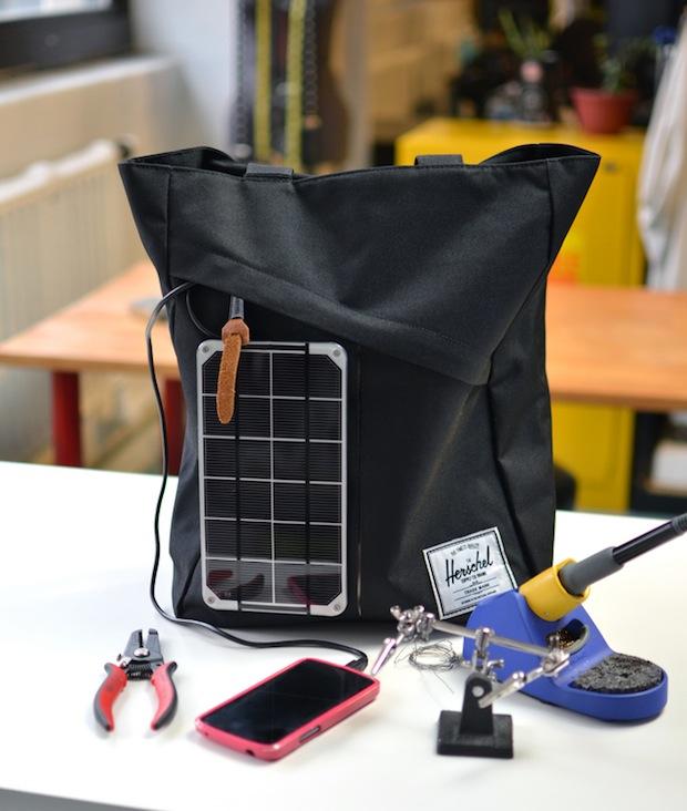 How-To: Solar Charging Handbag