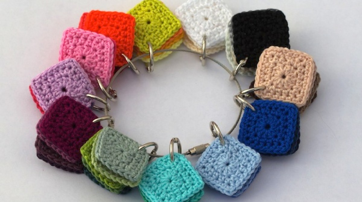 How-To: Crocheted Color Planning Squares