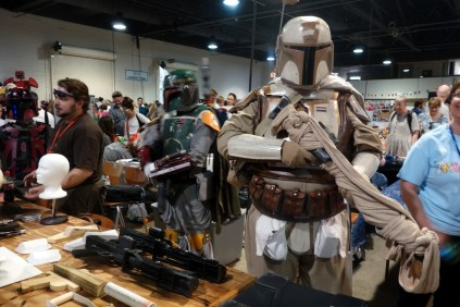 The Carolina Garrison of the 501st Legion was representing in full gear!