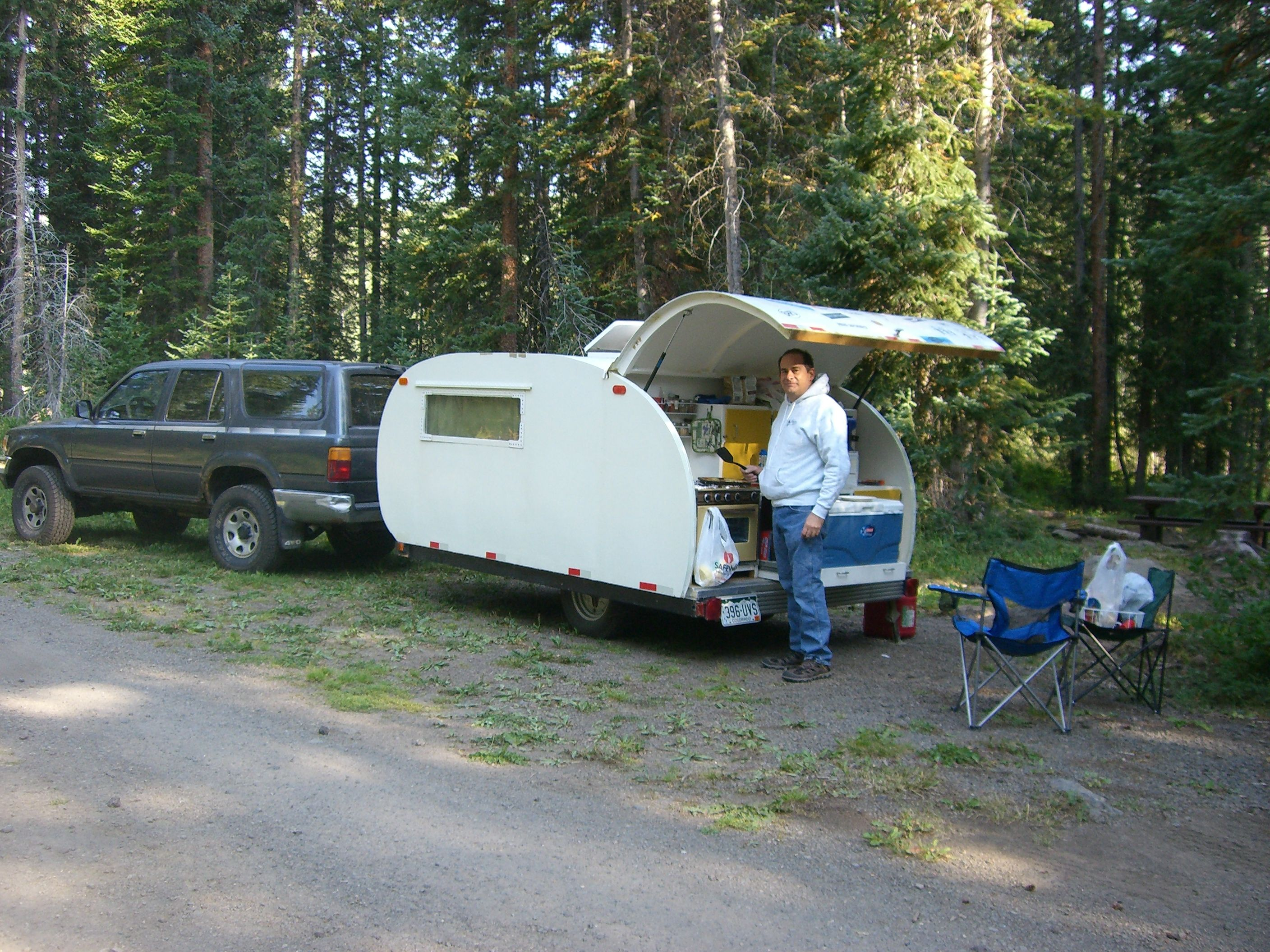How and Why I Built My Own Teardrop Camper Trailer
