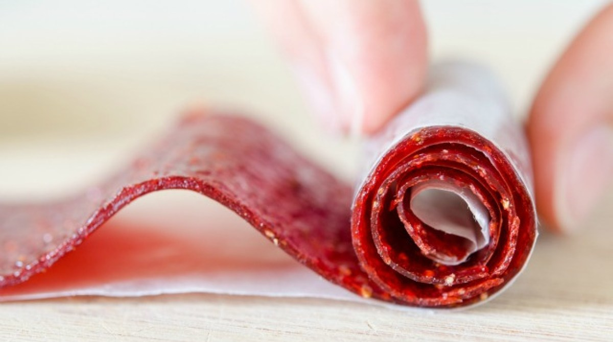 How-To: Homemade Strawberry Fruit Rollup