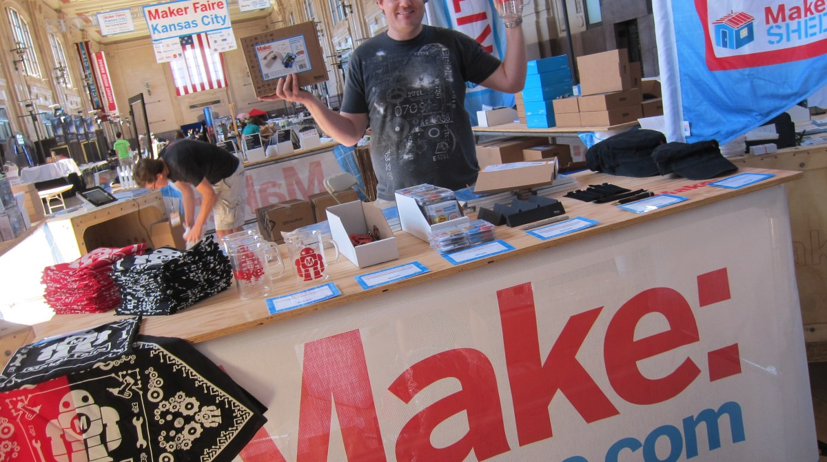 Maker Shed has Arrived at Maker Faire Kansas City!