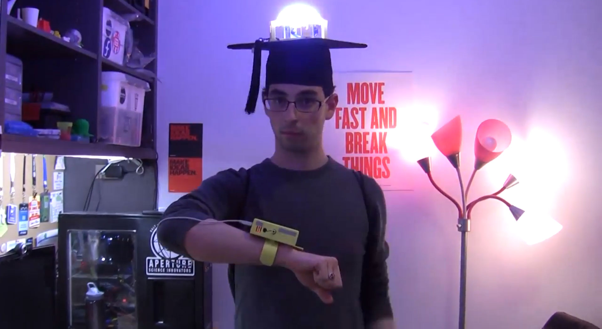 Crowdsourced Colors with Control My (Graduation) Cap