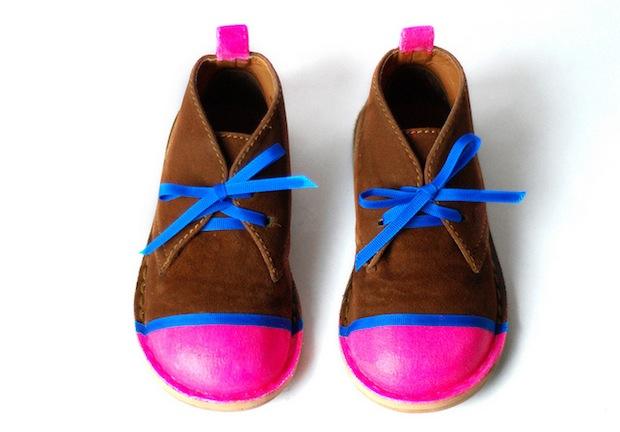 How-To: Neon Shoe Revamp