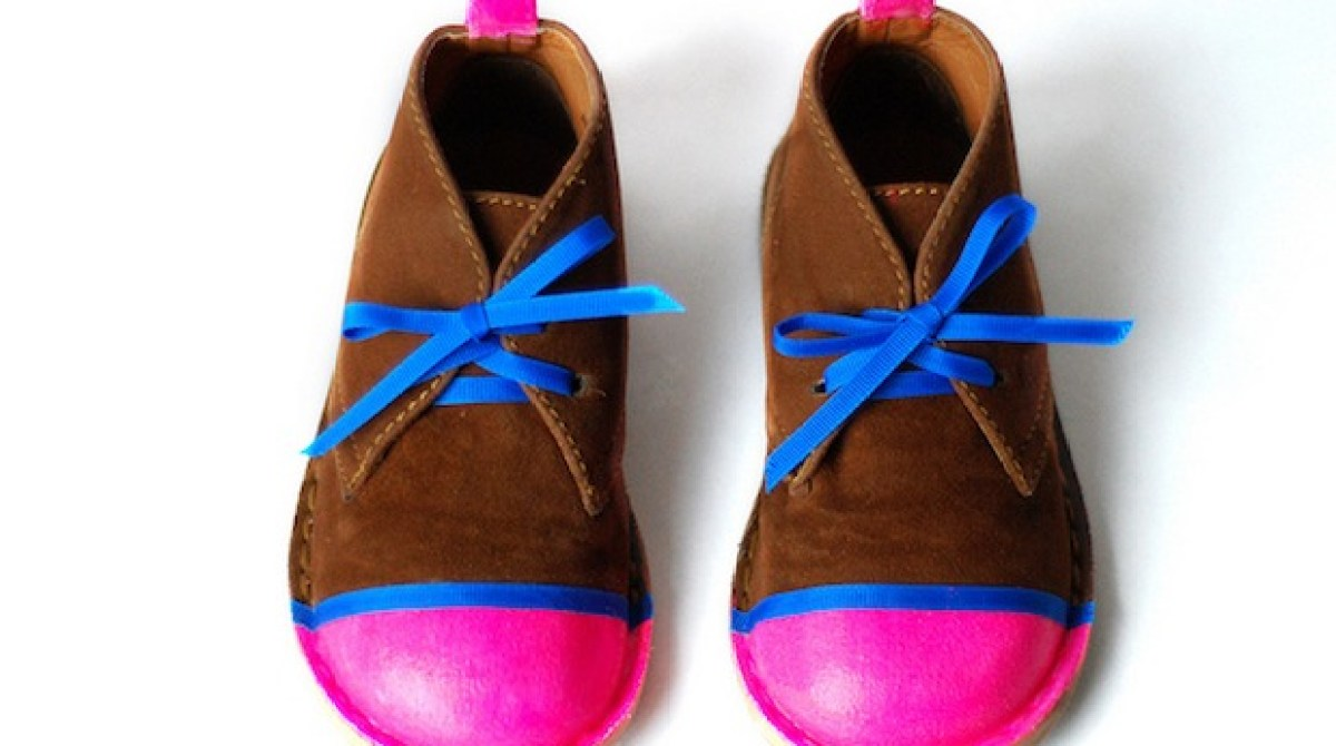 How-To: Neon Shoe Revamp