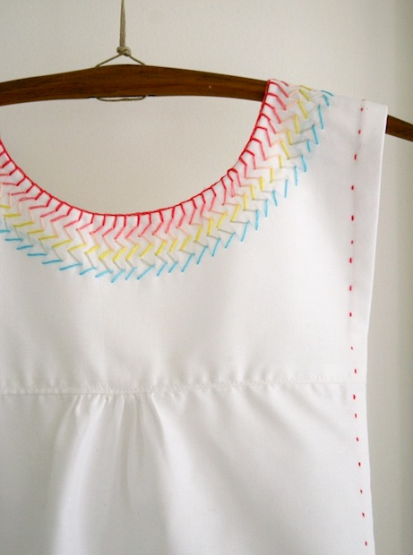 How-To: Embroidered Cotton Jumper