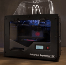 MakerBot Replicator 2$2,199. For a big step up, the MakerBot Replicator 2 is arguably the cream of the new crop of consumer 3D printers. The printer boasts a beefy, 410 cubic inch build volumeand can print with our without a computer. And it's designed to be easy to use right out of the box.--Stett Holbrook.