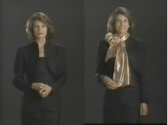 How-To: Style a Scarf in 1988