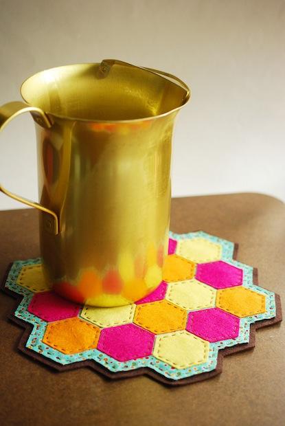 How-To: Hexagon Lemonade Coaster