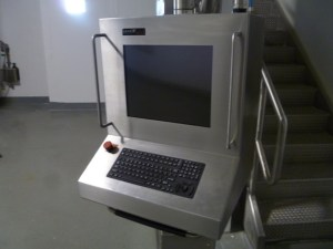 Looks like a command center for world domination, contains a Dell Pentium 4.