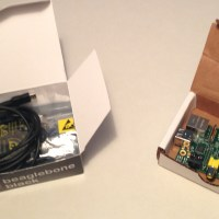 Unboxing the BBB and RPi. Not really though, I had already unboxed them both and used them quite a bit...