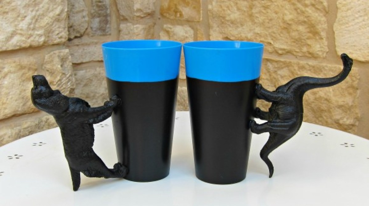 How-To: Party Cups With Animal Handles