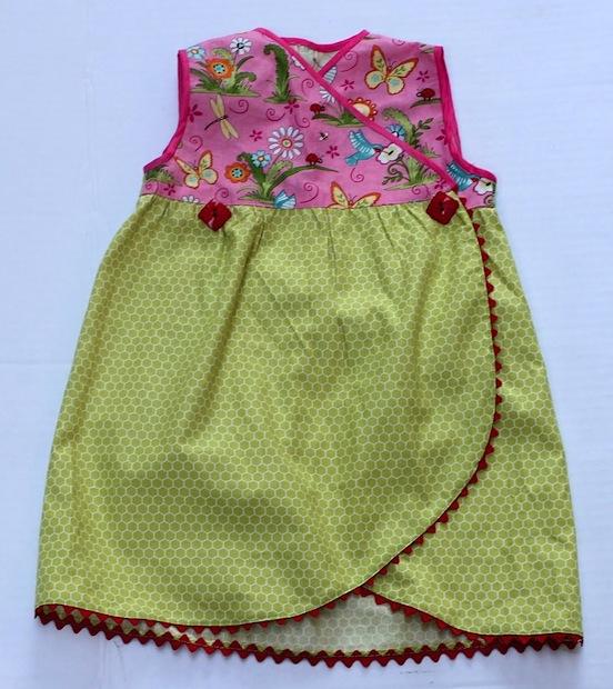How-To: Wrap Dress with Tulip Hem