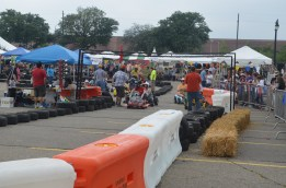 Power Racing Series racers about to test their skill in the Motor City.