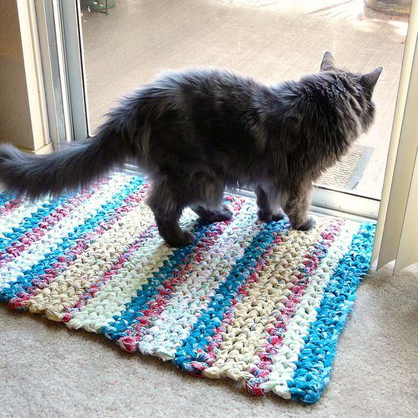 How-To: Crocheted Rag Rug