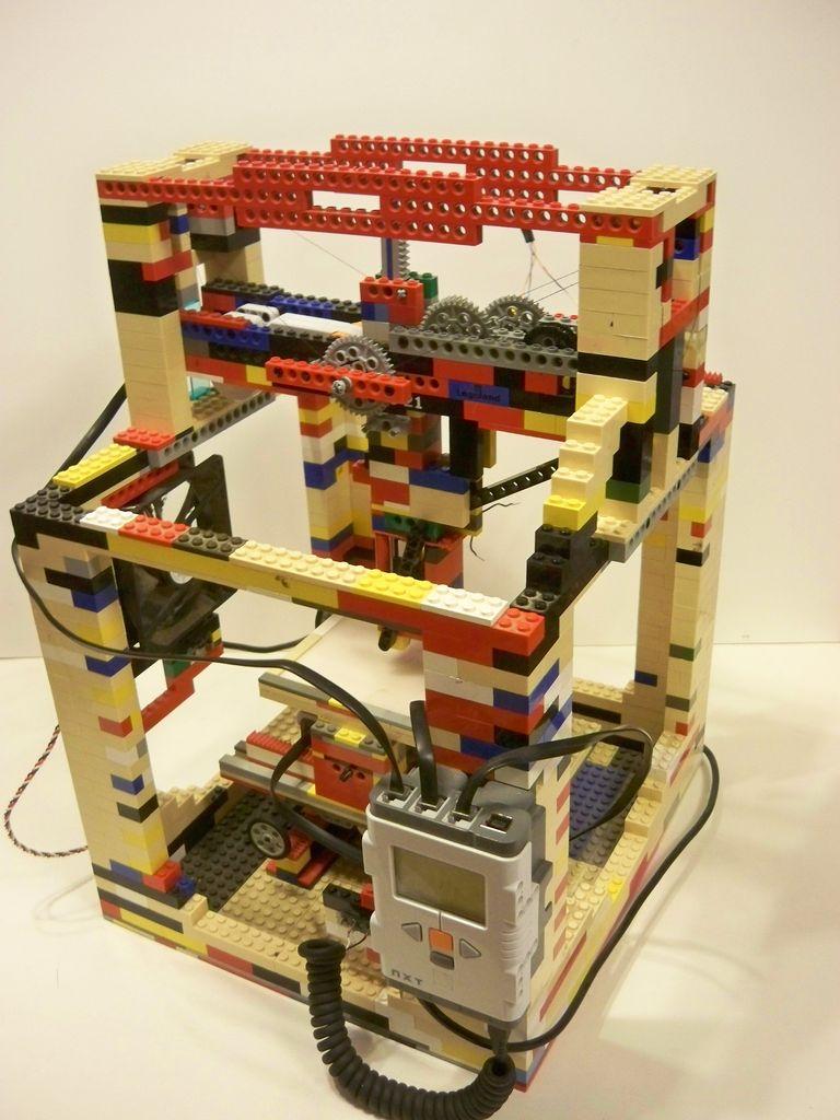Lego Hot Glue Printer